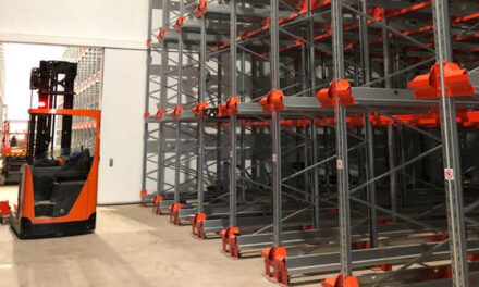 A cool solution: Toyota's BT Radioshuttle helps meat supplier rack-out new cold store