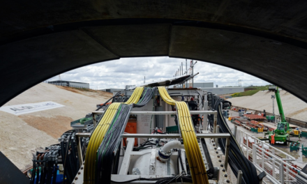 Historic moment as HS2 launches first giant tunnelling machine